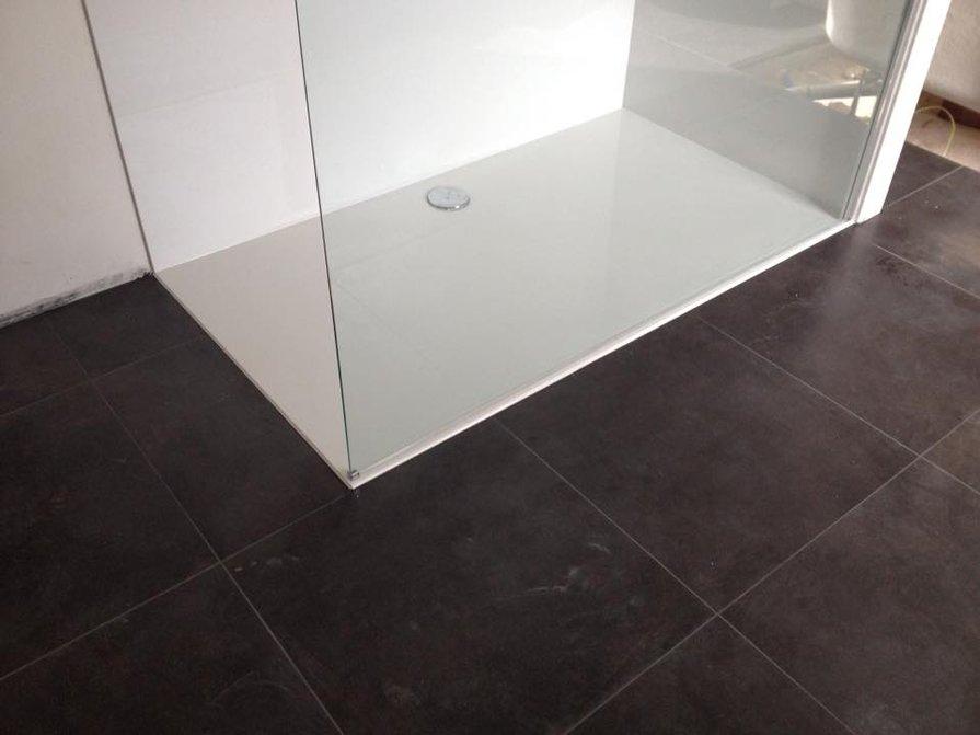 Plaatsing douche - nieuwe badkamer - badkamerrenovatie