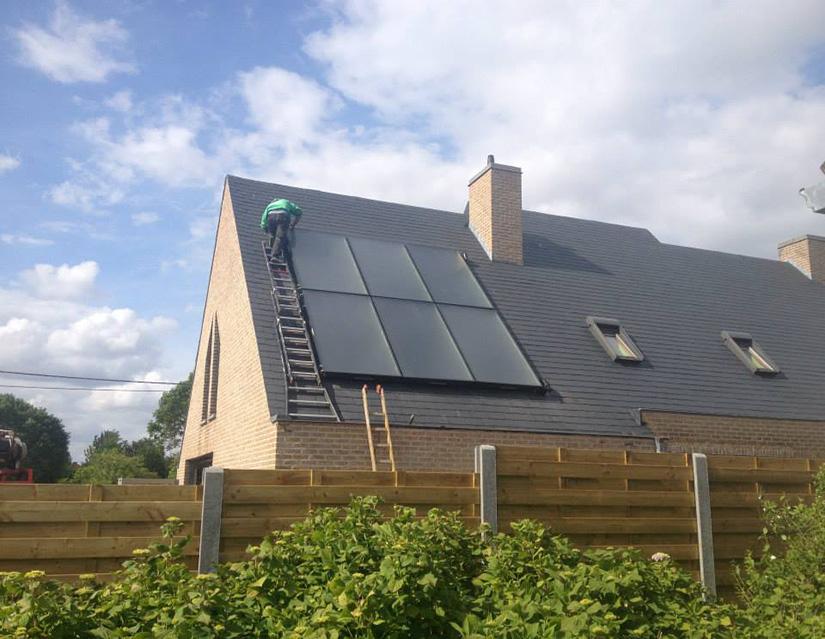 Hernieuwbare energie - zonneboiler plaatsen Roeselare